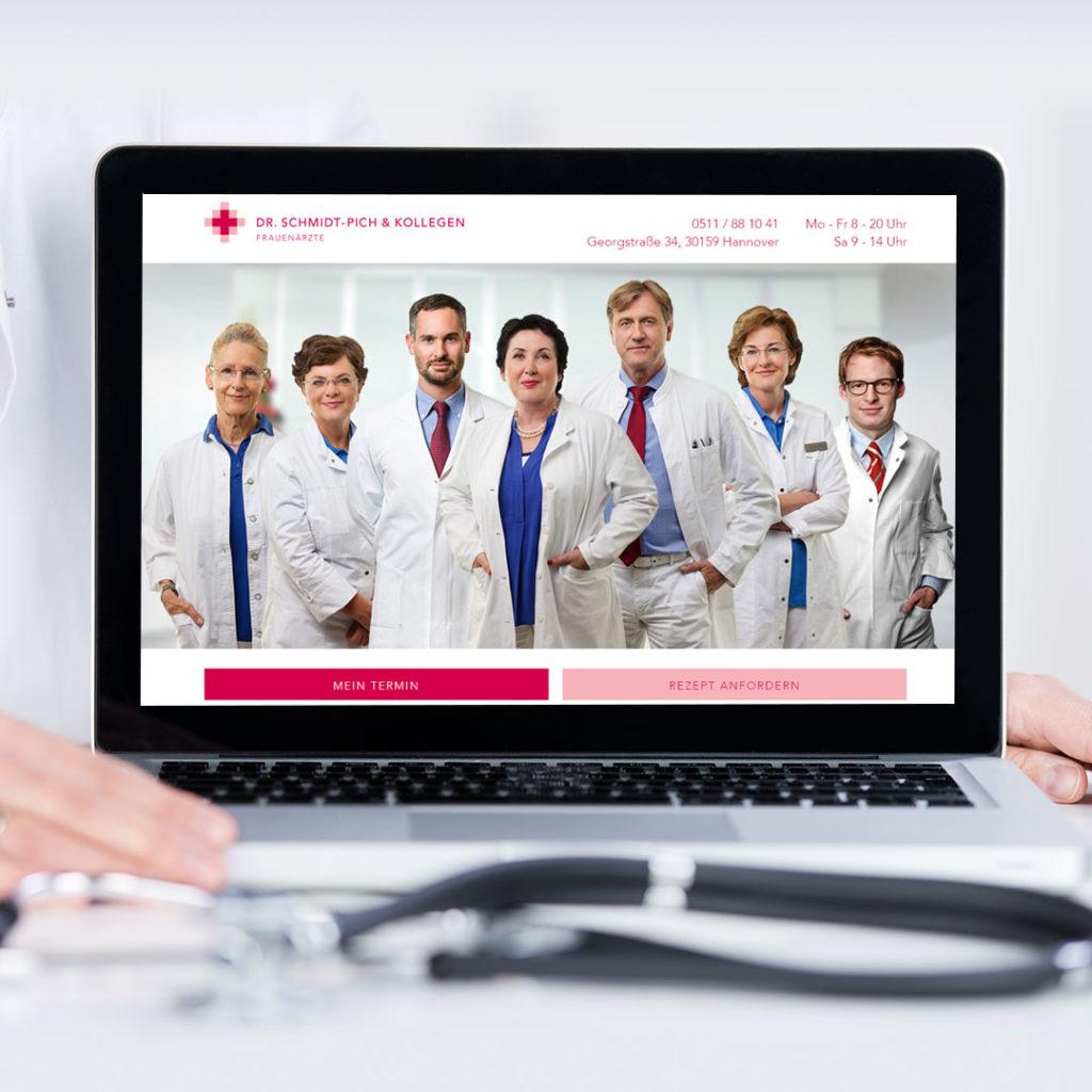 Frauenarzt Details Referenzseite