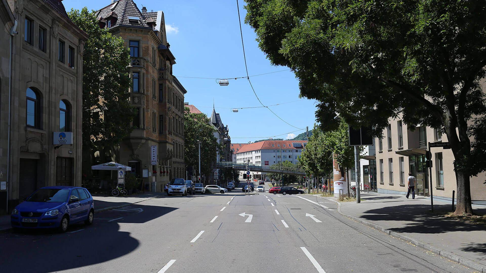 Marienplatz Filderstraße Anfahrt