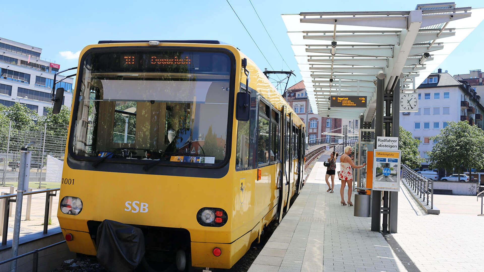 Marienplatz Zacke Zahnradbahn