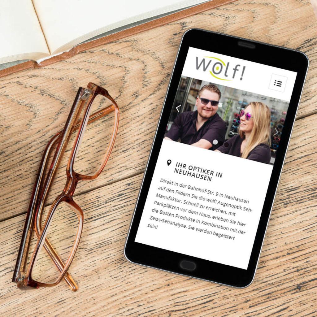 Redesign Webseite