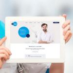 Zahnarzt-Praxisverbund – moderne Webseite mit CMS