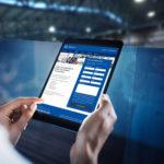 Webseite – Usability konfermes Anfrageformular
