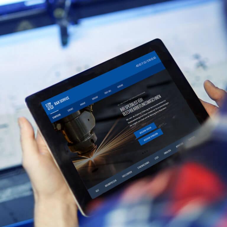 Metallindustrie – Webdesign und Suchmaschinenoptimierung