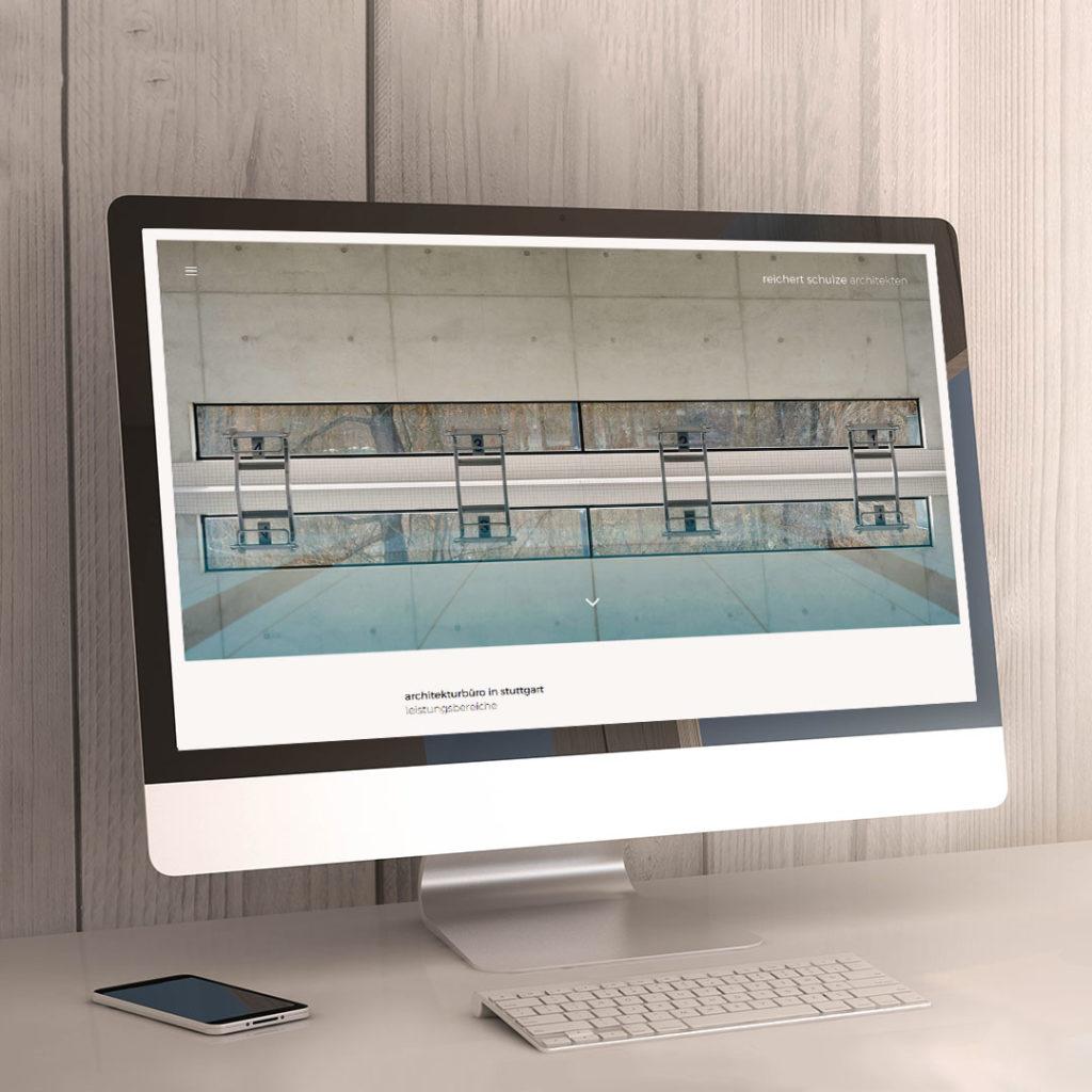 Relaunch einer Architekten-Webseite – Design, Layout und Inhalte