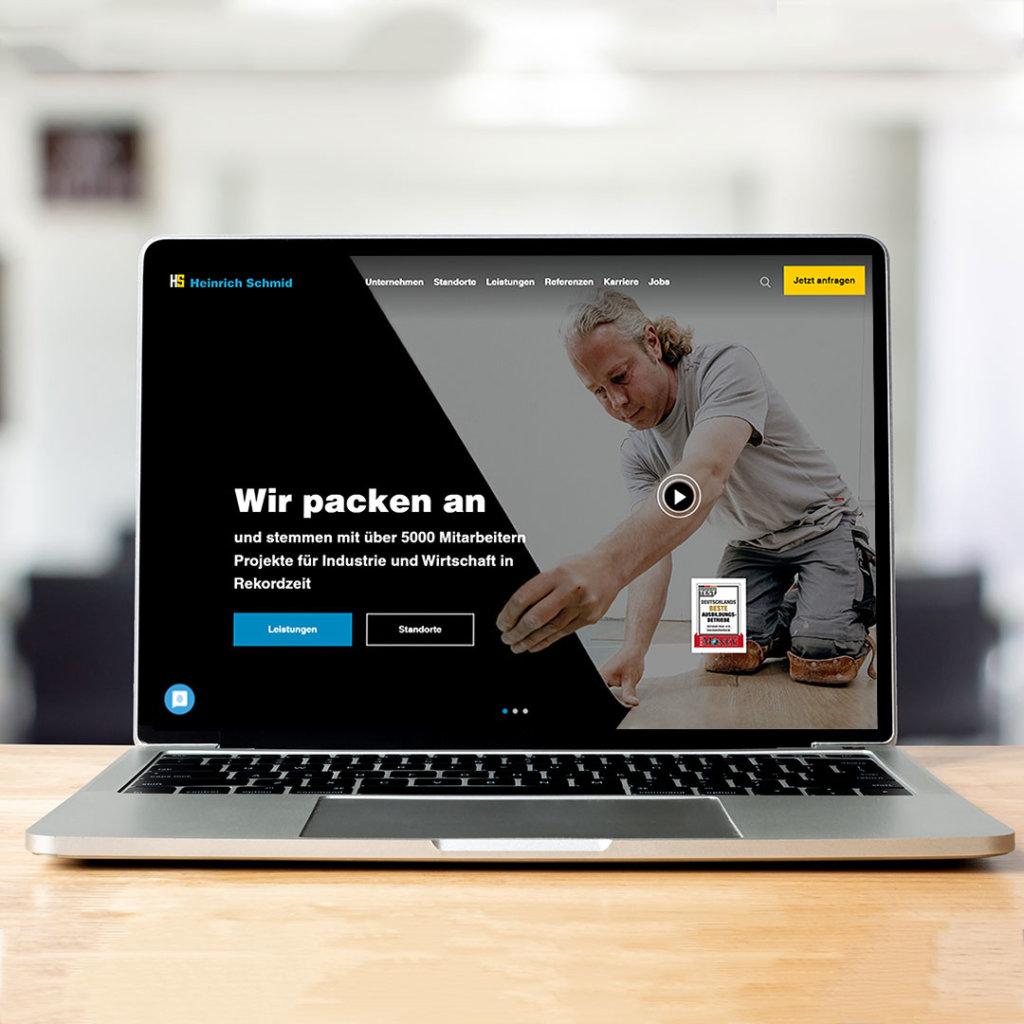 Webdesign Handwerker Webseitengestaltung