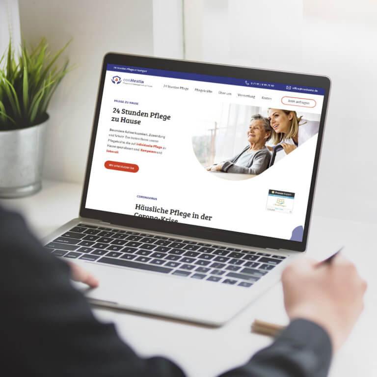 Betreuung Pflege Webdesign