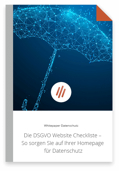 Whitepaper DSGVO Webseite Check